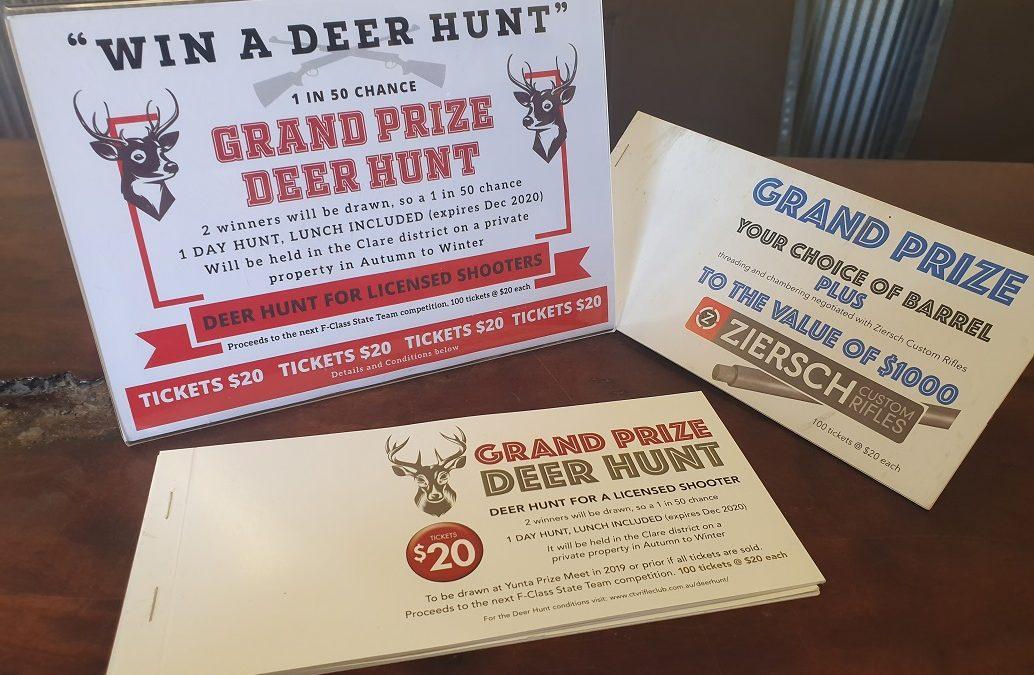 Grand Prizes 1: a Deer Hunt or 2: a Rebarrel job by ZCR!!